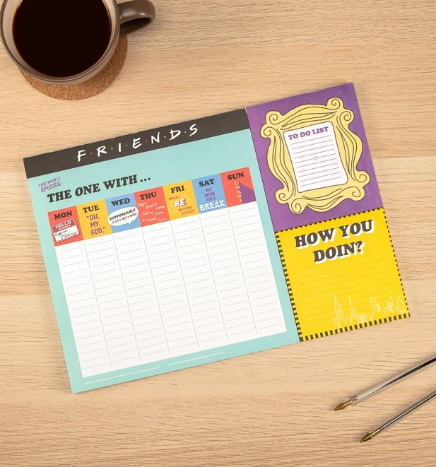 Friends Weekly Planner
