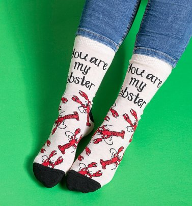 Friends You Are My Lobster Socks
