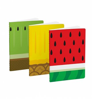 Froot Set of 3 Kiwi, Pineapple & Watermelon Mini Notebooks