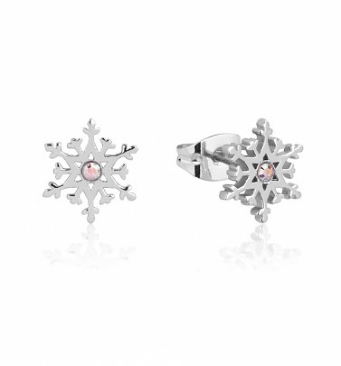 Frozen 2 Swarovski Crystal Snowflake Stud Earrings from Disney by Couture Kingdom