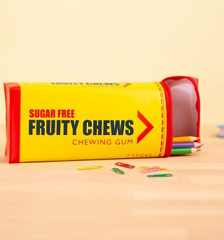 Fruity Chews Chewing Gum Pencil Case