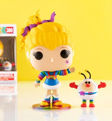Funko Pop! Rainbow Brite And Twink Vinyl Figure