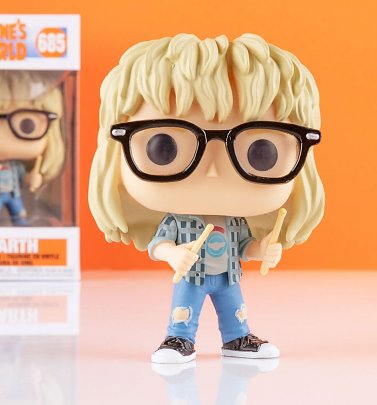 Funko Pop! Wayne's World Garth Vinyl Figure