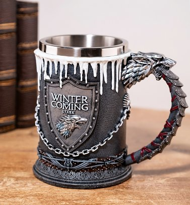 Game Of Thrones House Stark Tankard from Nemesis Now