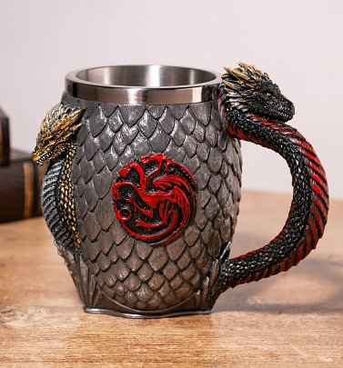 Game Of Thrones House Targaryen Tankard from Nemesis Now