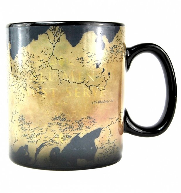 Game Of Thrones Map Heat Changing Mug