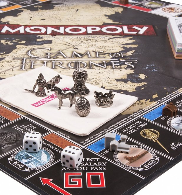 game of thrones monopoly game set. Black Bedroom Furniture Sets. Home Design Ideas