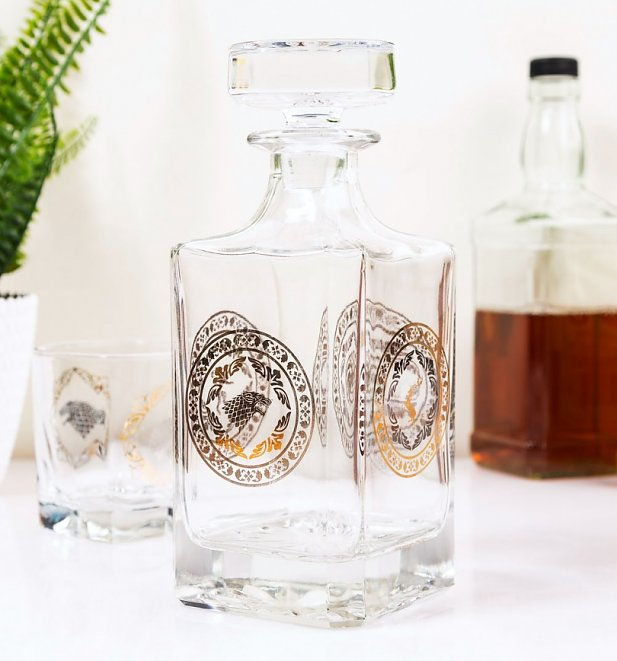 Game Of Thrones Premium Decanter Gift Set