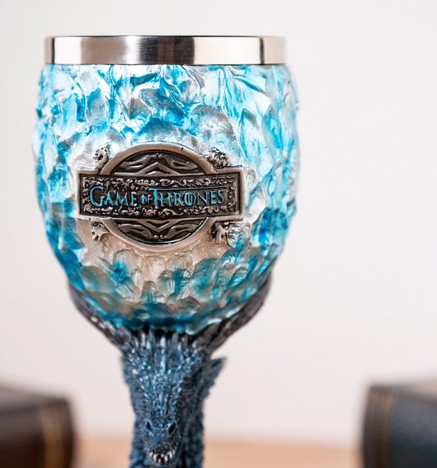 Game Of Thrones Viserion White Walker Goblet from Nemesis Now