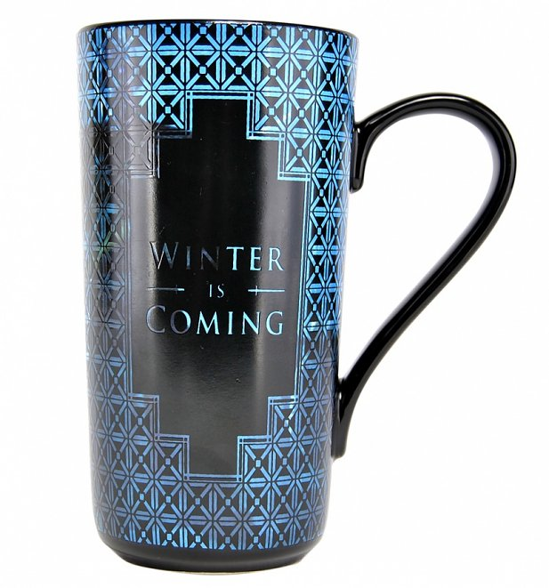 Game Of Thrones Winter Is Coming Heat Changing Latte Mug
