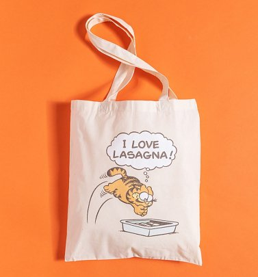Garfield Lasagne Tote Bag