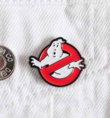 Ghostbusters Logo Enamel Pin badge