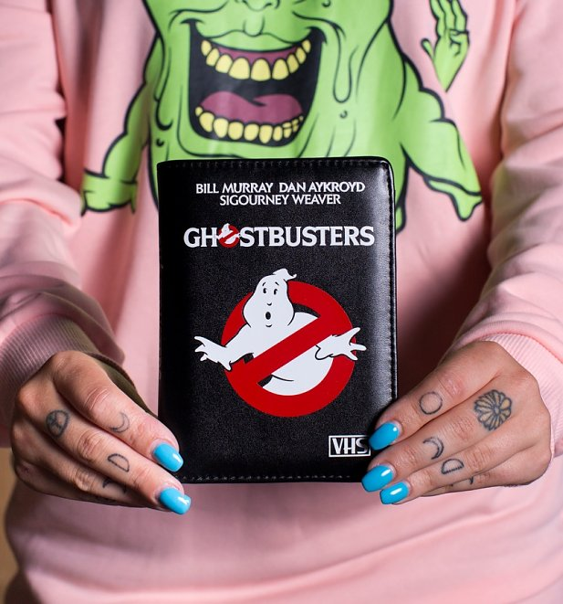 Ghostbusters VHS Passport Holder from Cakeworthy