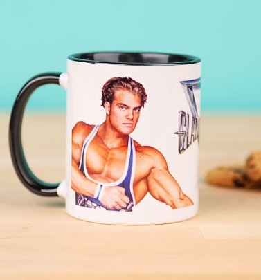 Gladiators Hunter And Jet Black Handle Mug