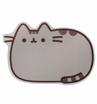 Glass Pusheen Chopping Board