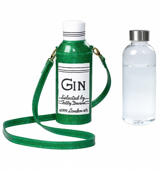 Gin Water Bottle And Cover from Tatty Devine