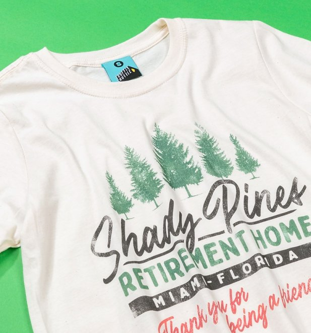 Golden Girls Inspired Shady Pines Retirement Home Natural T-Shirt