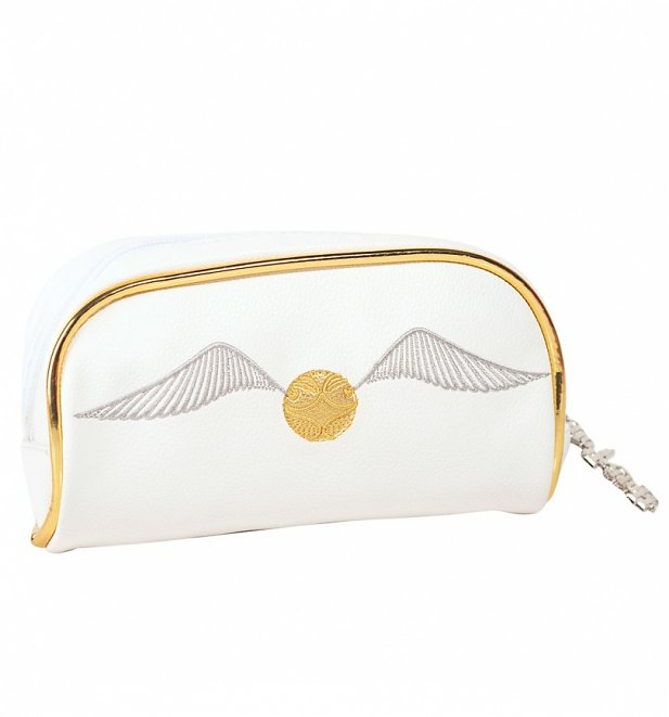 Golden Snitch Harry Potter Cosmetic Bag