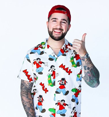 Goofy Movie Max Button Up Shirt from Cakeworthy