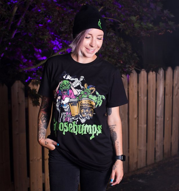 Goosebumps Classic T-Shirt from Cakeworthy