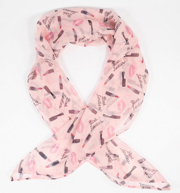 Grease Pink Ladies Hair Scarf from Unique Vintage