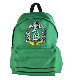Green Harry Potter Slytherin Backpack