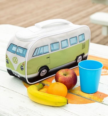 Green VW Camper Van Lunch Bag