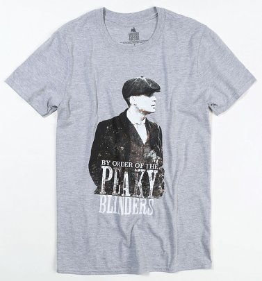 Grey Marl By Order Of The Peaky Blinders T-Shirt