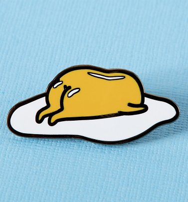 Gudetama Sleepy Enamel Pin from Punky Pins