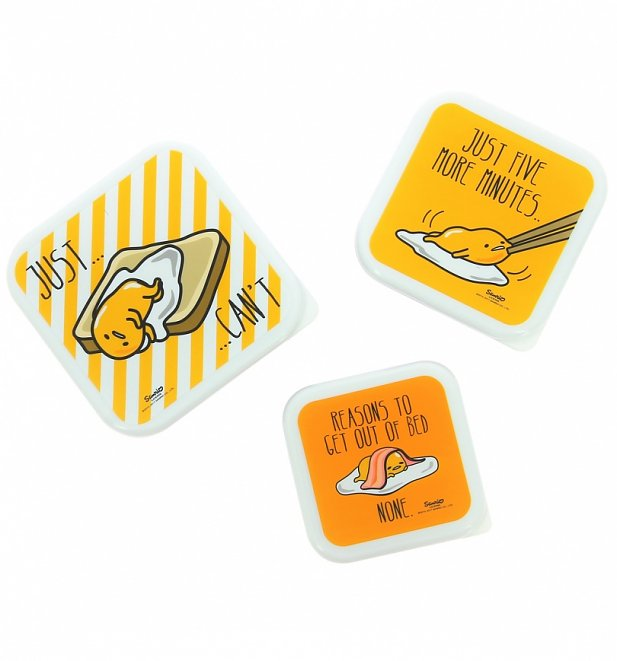 Gudetama Storage Boxes