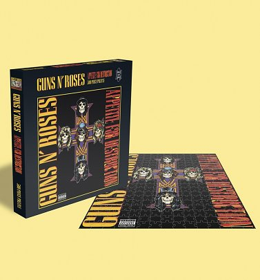 Guns N Roses Appetite For Destruction 500 Piece Jigsaw Puzzle from Rock Saws