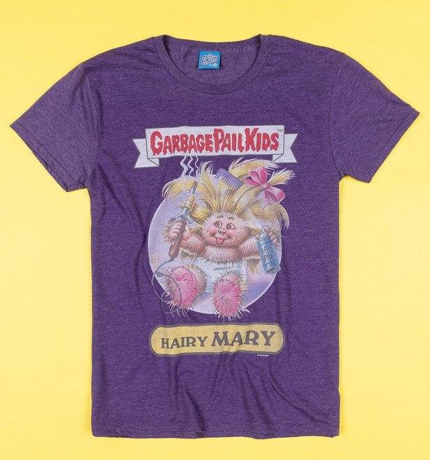 Hairy Mary Garbage Pail Kids T-Shirt