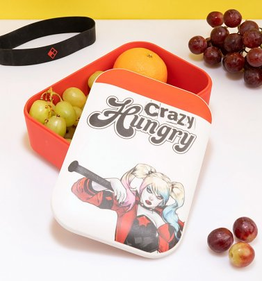 Harley Quinn Crazy Hungry Bamboo Lunchbox
