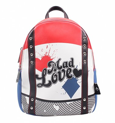 Harley Quinn Mad Love Mini Backpack
