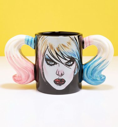 Harley Quinn Shaped Mug