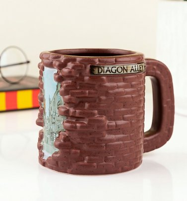 Harry Potter 3D Diagon Alley Mug