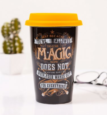 Harry Potter Allowed To Use Magic Travel Mug