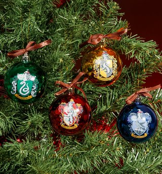 Harry Potter Christmas Bauble Decorations