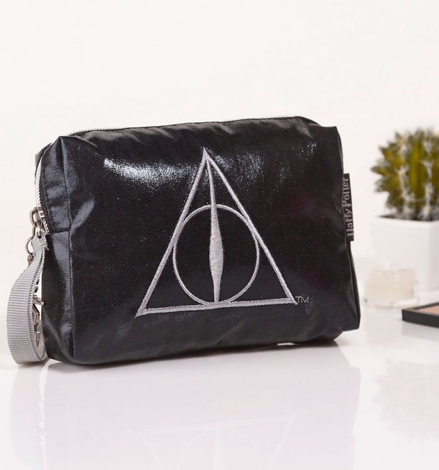 Harry Potter Deathly Hallows Cosmetic Bag