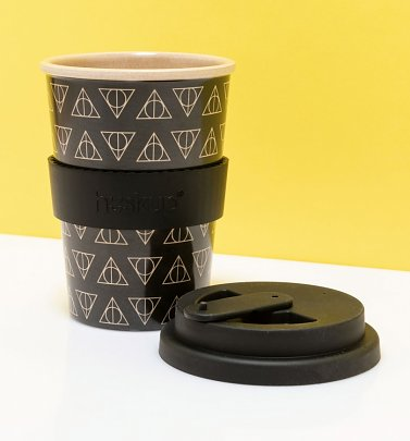 Harry Potter Deathly Hallows Eco Travel Mug from Huskup