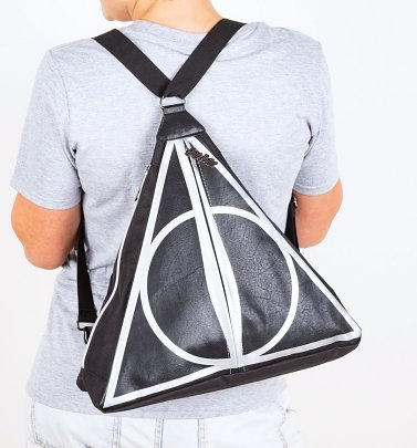Harry Potter Deathly Hallows Multiway Backpack