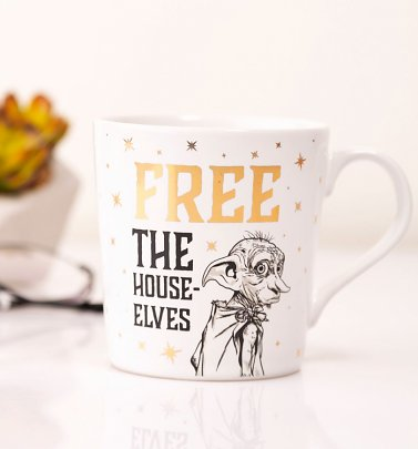 Harry Potter Dobby Free The House Elves Boxed Mug