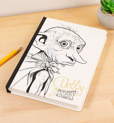 Harry Potter Dobby The House Elf A5 Notebook