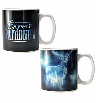 Harry Potter Expecto Patronum Heat Changing Mug