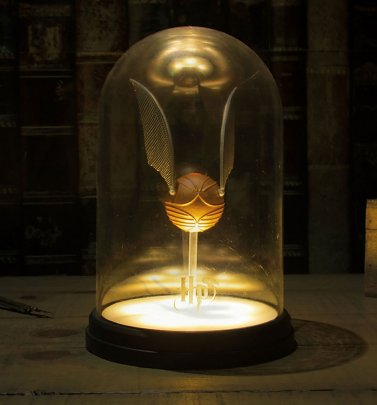 Harry Potter Golden Snitch Light