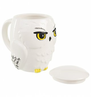 Harry Potter Hedwig Owl 3D Mug With Lid