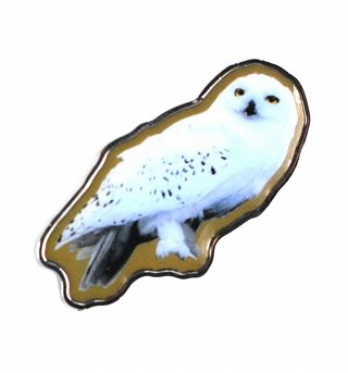 Harry Potter Hedwig Owl Enamel Pin Badge