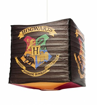 Harry Potter Hogwarts Cube Paper Lampshade