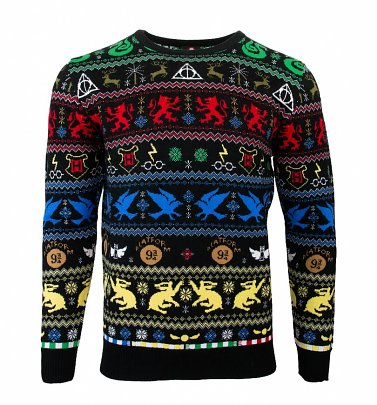 Harry Potter Houses Christmas Jumper