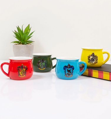 Harry Potter Houses Set of 4 Mugs